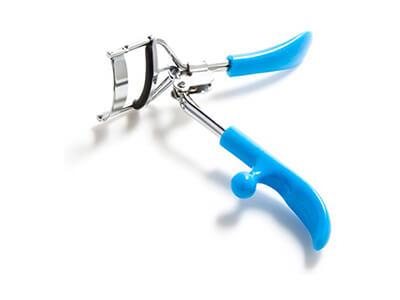 Molded Plastic Grip Lash Curler