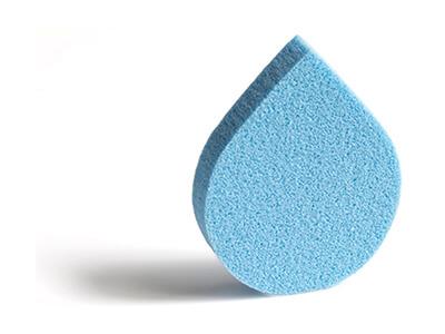 Flat Teardrop Shape Sponge