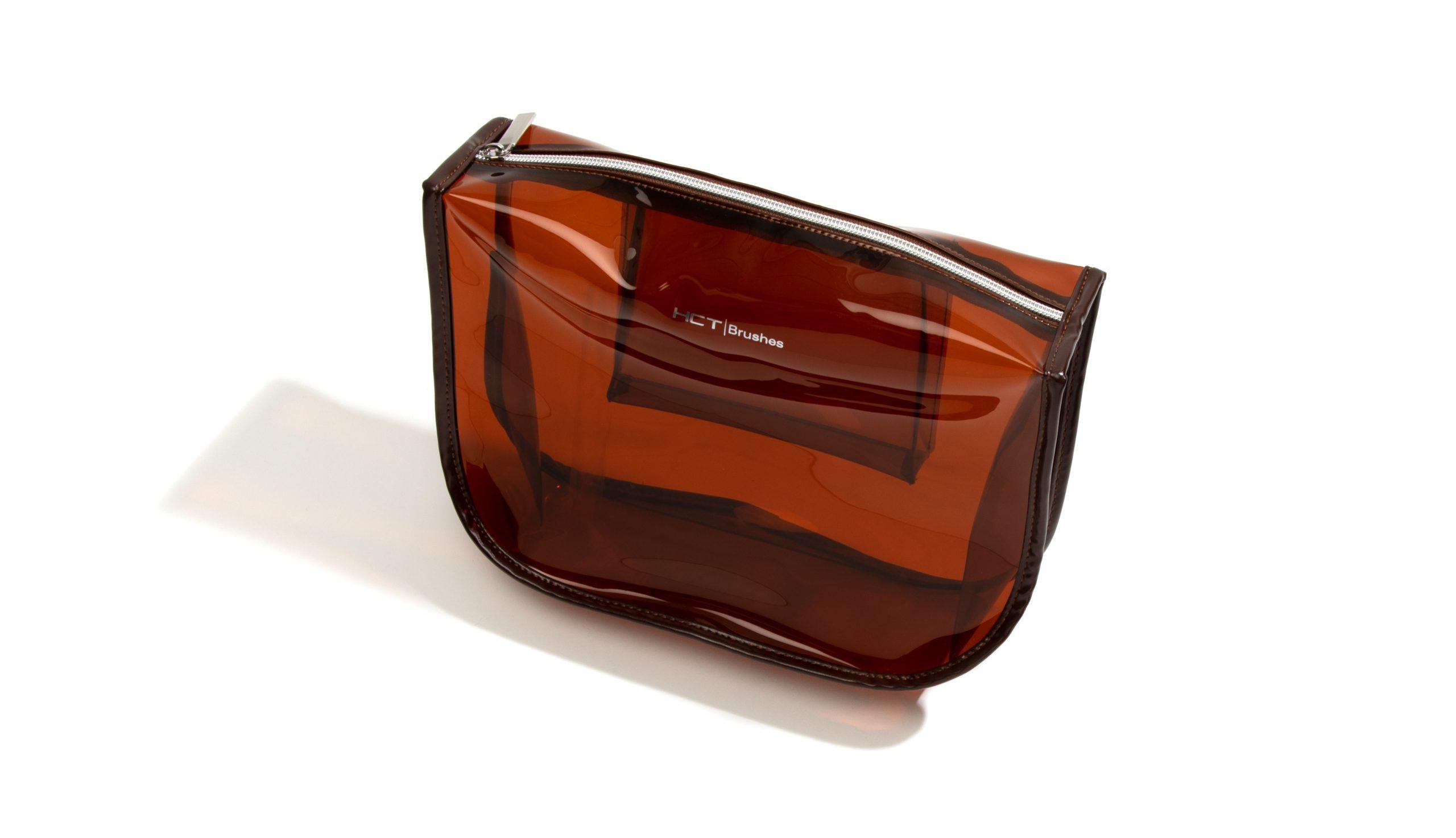 Amber PVC Pouch